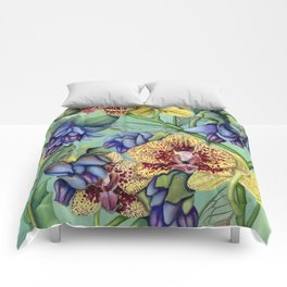 Lost Wing In Bloom Comforters