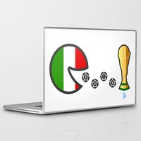 world cup Laptop & iPad Skins featuring Italy World Cup 2014 by onejyoo