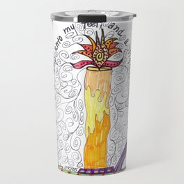 Thy Word Is A Light Travel Mug