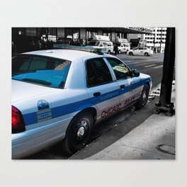 Protect and Serve. Canvas Print