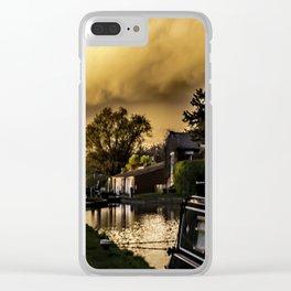 No Problem at Hillmorton Locks Clear iPhone Case