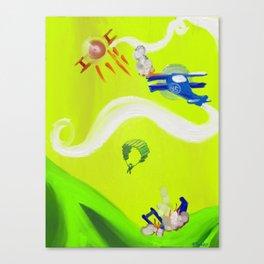 Aerial Battle Canvas Print