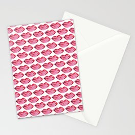 KISSY LIPS Stationery Cards