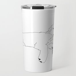 Sleep - Golden Retriever Travel Mug