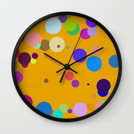 Circles #5 - 03102017 Wall Clock