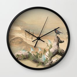 Beach Oasis Wall Clock