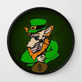 Hav' yer pot o'gold, Gimme da loot! Wall Clock