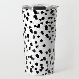 Black and White Dalmatian Travel Mug