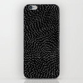 storm | black iPhone Skin