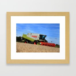 A Touch Of Claas 'Claas Lexion 470' Combine Harvester Framed Art Print