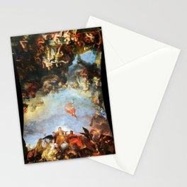 The King Governs by Himself by Charles Le Brun (1661) Stationery Cards