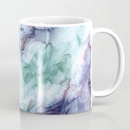 Growth- Abstract Botanical Fluid Art Painting Coffee Mug