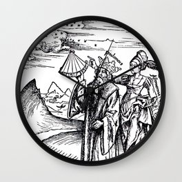 Margarita Philosophica Wall Clock
