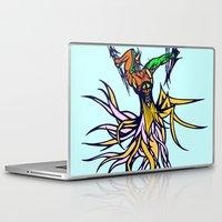 archer Laptop & iPad Skins featuring Atlantean Archer by Robert Cooper