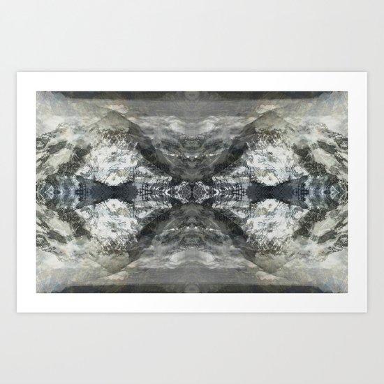Mountanitas 5 Art Print