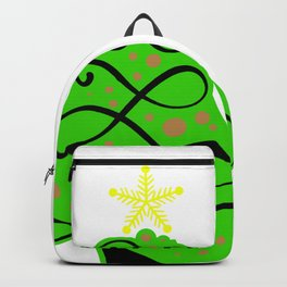 Christmas tree ornaments shirt Backpack