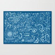 Secret ocean Canvas Print