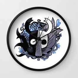 The Two Sides of the Hollow Knight Wall Clock