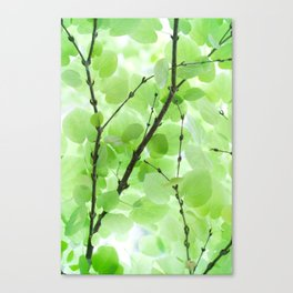 Under the Trees in a Summer Rainstorm  #decor #society6 #buyart Canvas Print