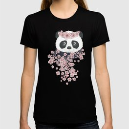 Panda face and Sakura T-shirt