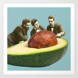 Avocado Discussion Kunstdrucke