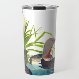 Red-Throated Diver Duck Travel Mug