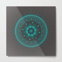 Modern mandala Metal Print
