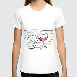 "Somm into the bottle chapter 7 ""The point scores"" T-shirt"