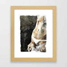HAND#3 Framed Art Print