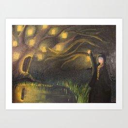 Illuminated Dreams Art Print