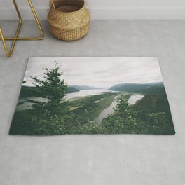 Columbia River Gorge VII Rug