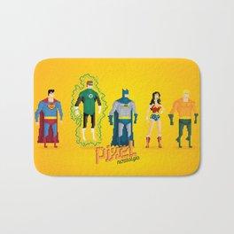 Justice League of America - Pixel Nostalgia Bath Mat