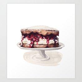 Cake Time! Art Print