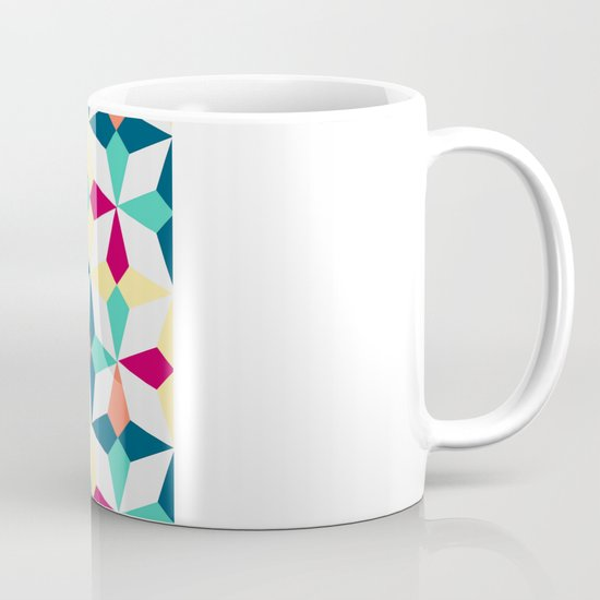 FloralGeometric Coffee Mug