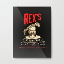 Rex's Main Logo Metal Print