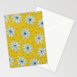 sema yellow blue Stationery Cards