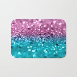 Tropical Beach Lady Glitter #7 #shiny #decor #art #society6 Bath Mat