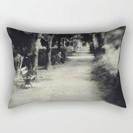 Time Waits For Nobody Rectangular Pillow