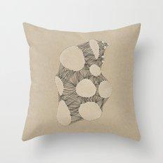 Kraft Konstruction Throw Pillow