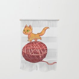 Kitten On Yan Wall Hanging