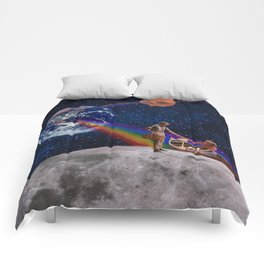 Oh What a Gorgeous Adventure Comforters