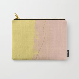 Pastels and lines Carry-All Pouch