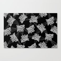 Gehry Lace Canvas Print