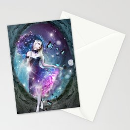 Ethereal keeper of worlds Stationery Cards