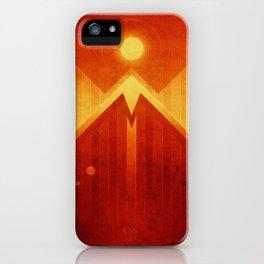 Mars - Olympus Mons iPhone Case