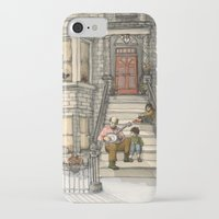 banjo iPhone & iPod Cases featuring Banjo Man by Studio Castillo