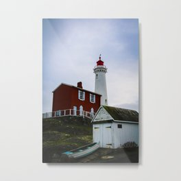 fisgard lighthouse Metal Print