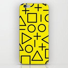 Memphis pattern 71 iPhone Skin