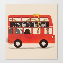 Let's Go To The Zoo! Canvas Print