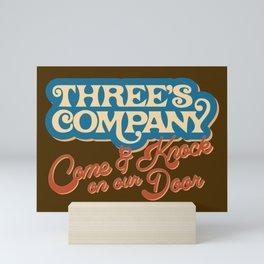 Come & Knock on Our Door Mini Art Print